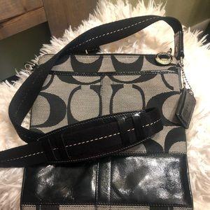 🖤🖤 NW0T COACH shoulder/cross body purse 👜 🖤🖤